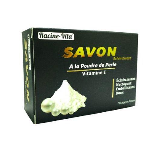 Racine Vita Savon éclaircissant à la poudre de perle et de vitamine E 80 gr