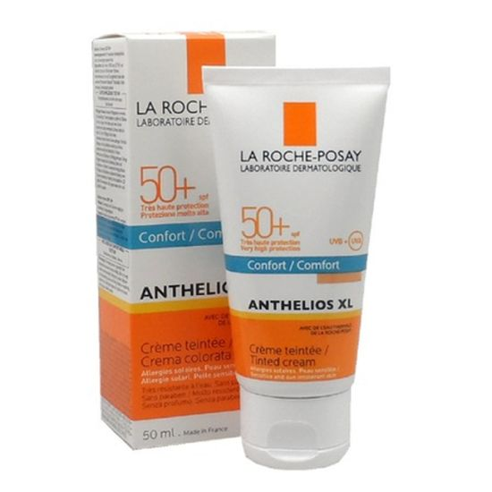 la roche posay anthelios xl cr me fondante teint e sp spf. Black Bedroom Furniture Sets. Home Design Ideas