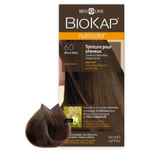 BioKap Nutricolor 6.0 Blond Tobacco, 140 ml.